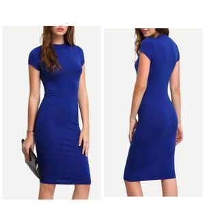 Dresses & Skirts - Midi Bodycon dress -SMALL ONLY
